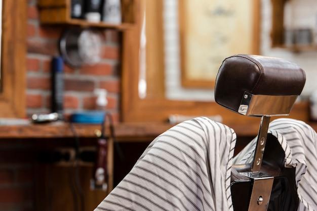 Cadeira profissional para salão de barbearia