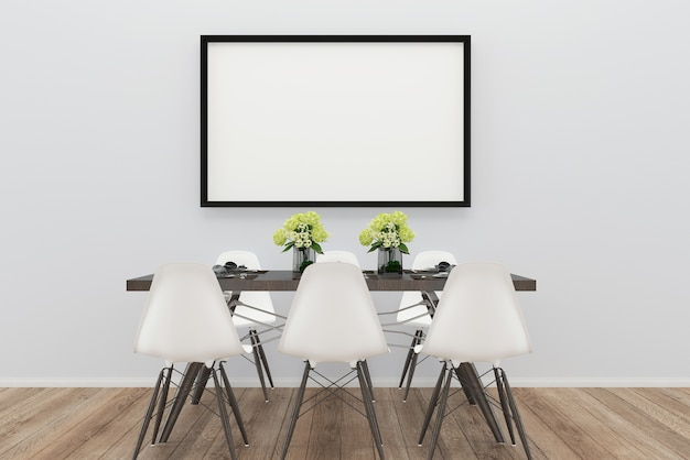 Cadeira sala de jantar piso de madeira fundo textura lâmpada foto moldura mármore vaso árvore