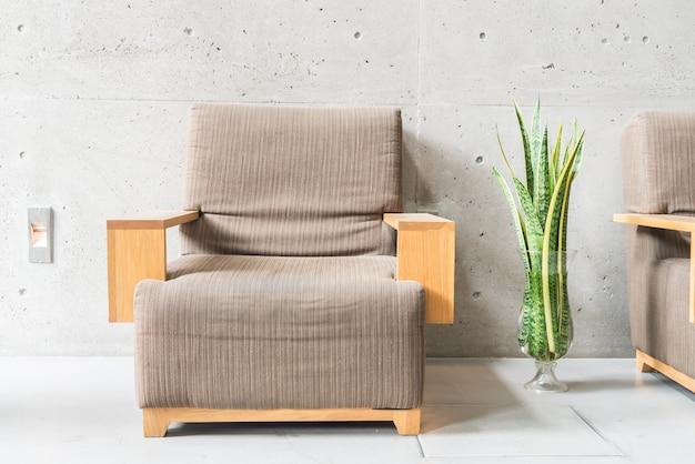 Cadeira vivendo mobiliário contemporâneo retro