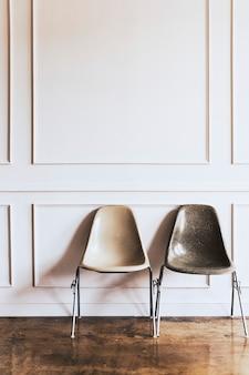 Cadeiras em uma sala de estar