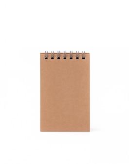 Caderno vintage em isolado