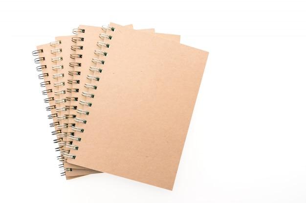 Cadernos bege