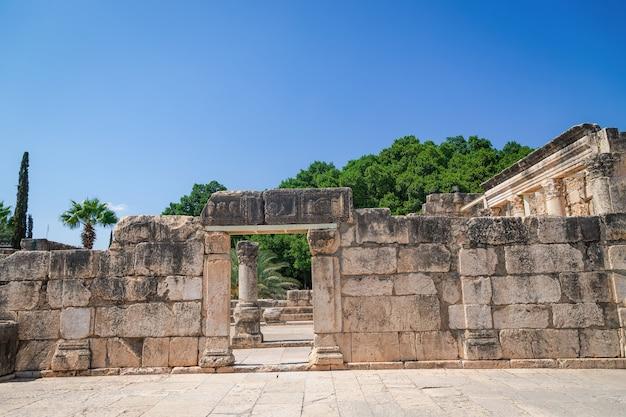 Cafarnaum, israel