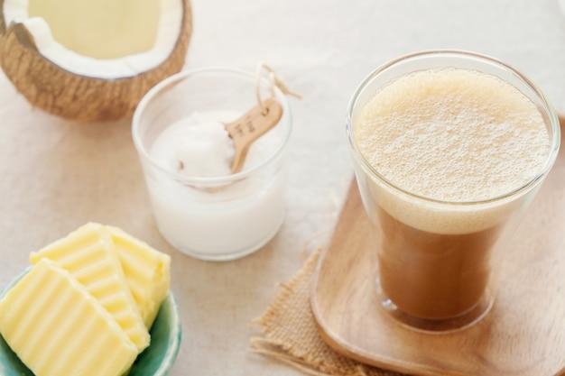 Café à prova de balas, bebida cetogênica