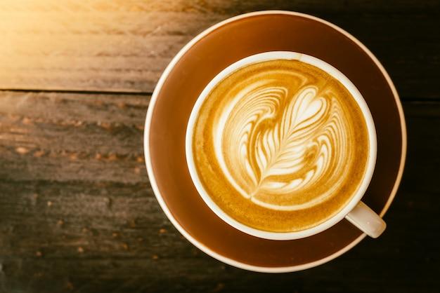 Café alimentos arte bebida do vintage