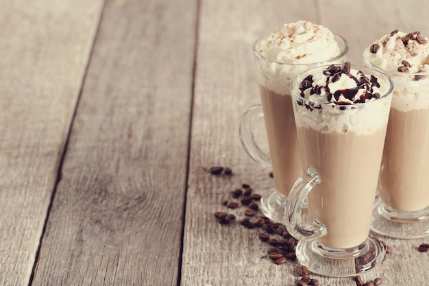 Café cappuccino delicioso