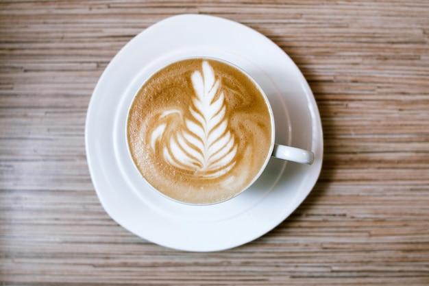 Café com café com leite energético matinal com cafeína
