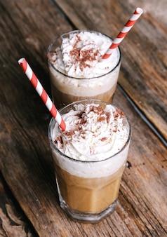 Café com leite delicioso