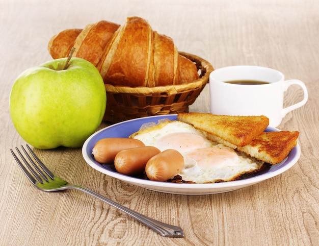 Café da manhã clássico