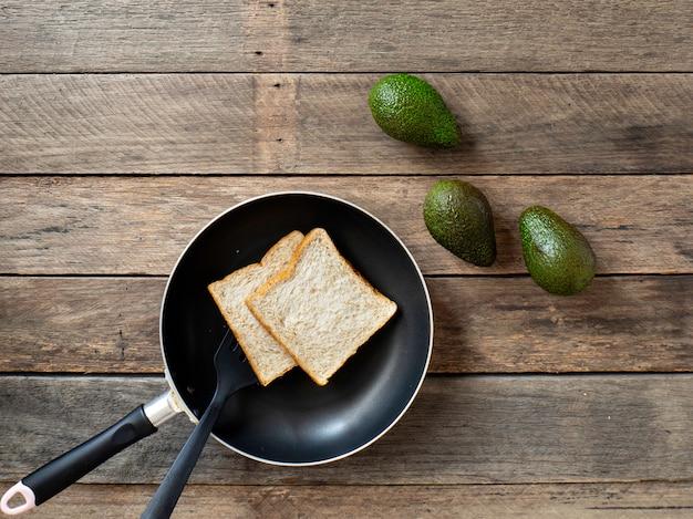 Café da manhã com abacate dieta de perda de peso a madeira