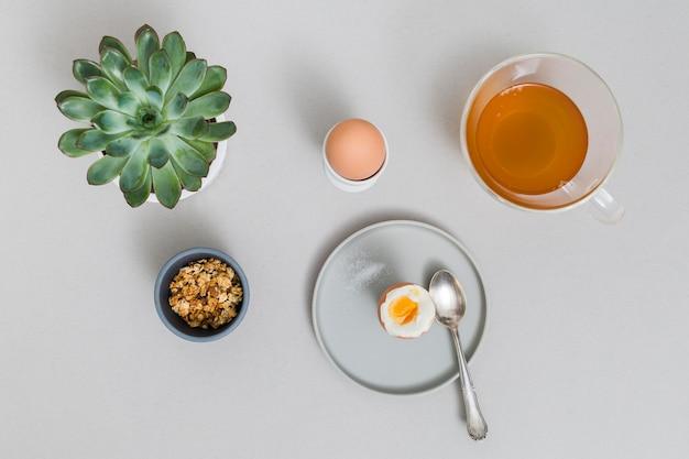 Café da manhã com chá