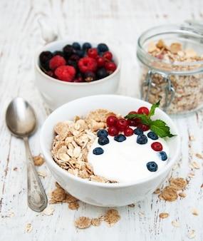 Café da manhã com frutas frescas