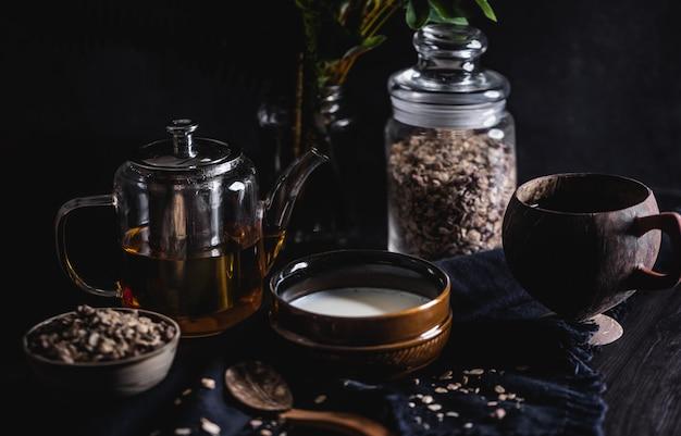 Café da manhã de aveia