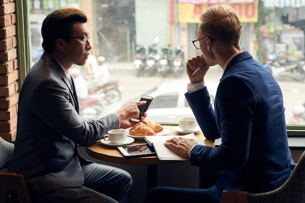 Café da manhã de negócios
