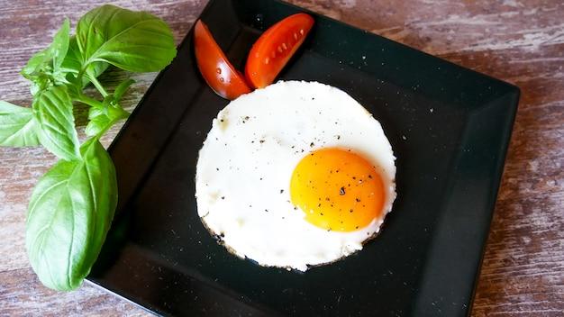 Café da manhã em um restaurante