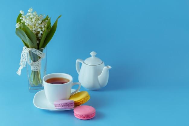 Café da manhã sazonal com biscoitos