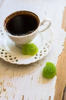 Café e doces