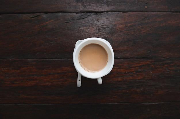 Café em madeira