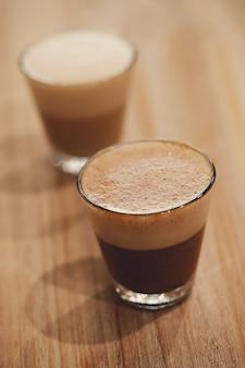 Café em vidro