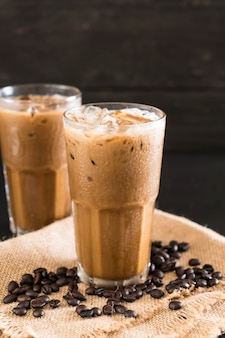 Café gelado com leite
