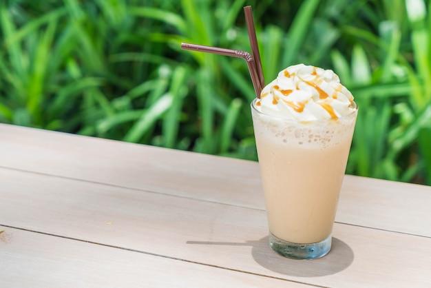 Café gelado do cappuccino