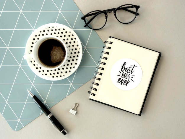 Café para o dia do chefe