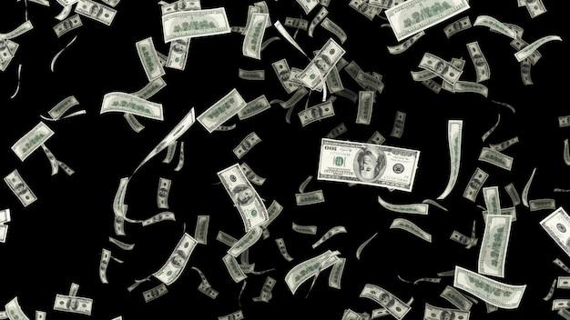 Caindo cem dólares onn alpha chanel
