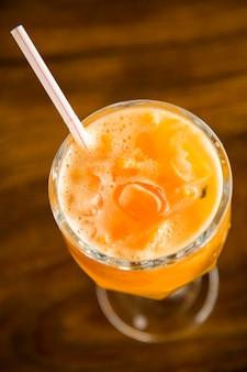 Caipirinha de fruta tangerina do brasil