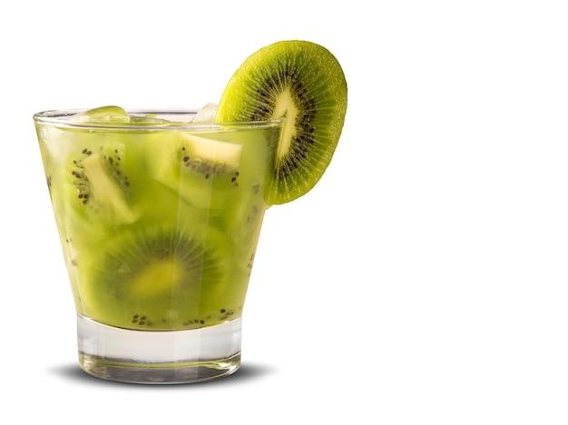 Caipirinha de kiwi do brasil