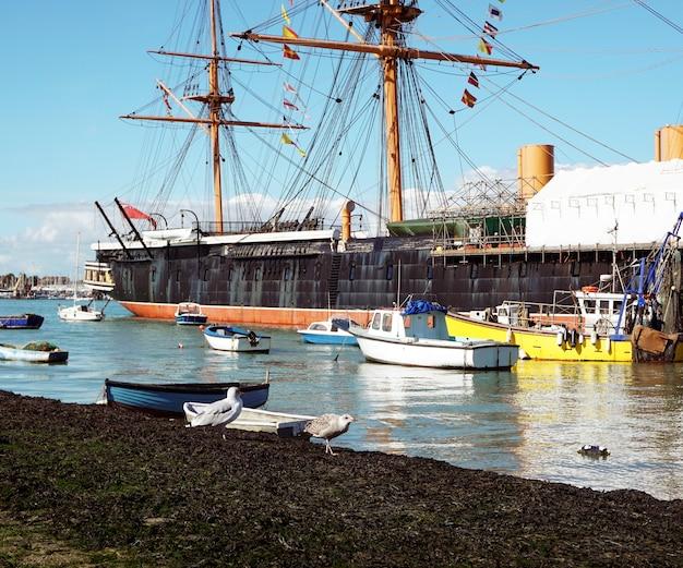 Cais porto barco oceano mar costa verão água