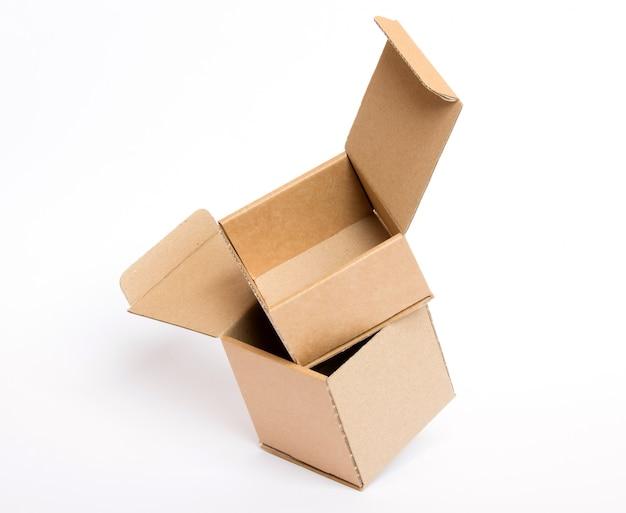 Caixa aberta vazia