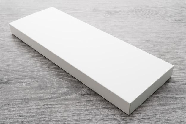 Caixa branca para mock up