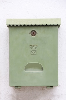 Caixa de correio de parede urbana
