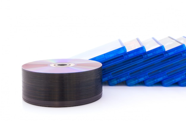 Caixa de dvd / cd com disco