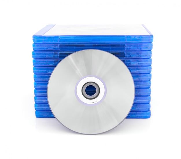 Caixa de dvd com disco