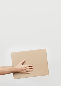 Caixa de entrega de espaço de cópia