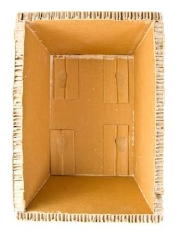 Caixa de entrega. isolado