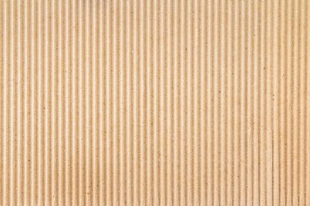 Caixa de papel marrom ou textura de folha de papelão ondulado