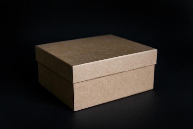 Caixa de papelão kraft