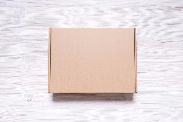Caixa de papelão plana