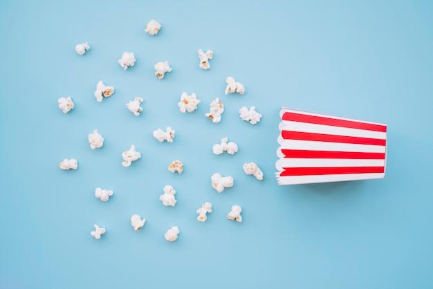 Caixa de pipoca de cinema