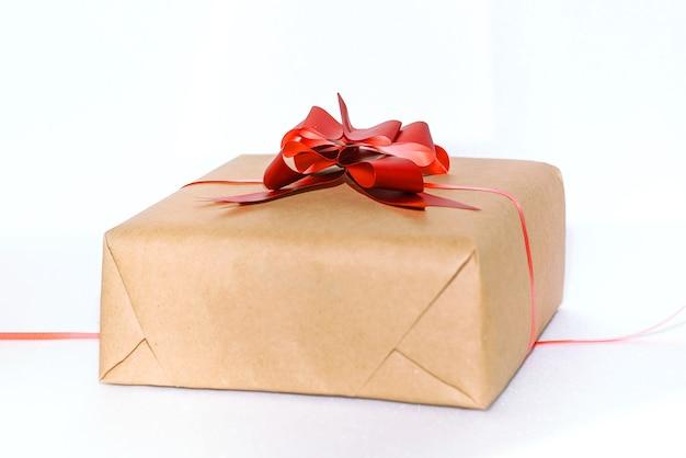 Caixa de presente com presentes