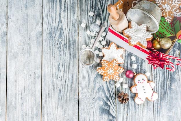 Caixa de presente de natal para padeiros