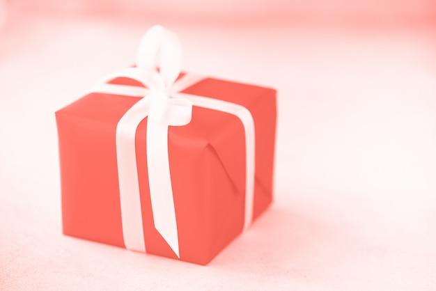 Caixa de presente ou presente para o natal, ano novo, festa de aniversário