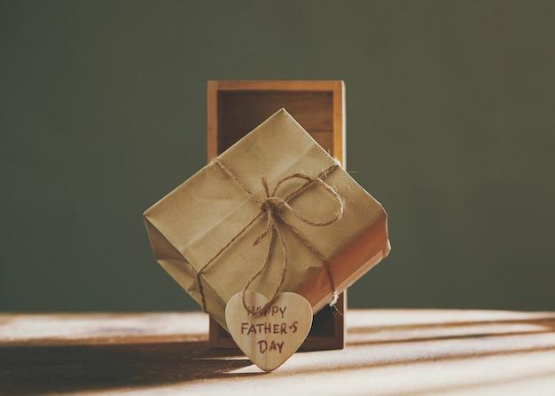 Caixa de presente para feliz dia dos pais