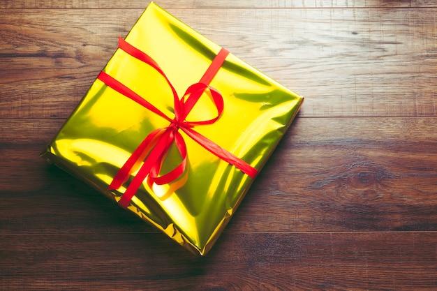 Caixa de presente para o ano novo de natal e comemoração de aniversário
