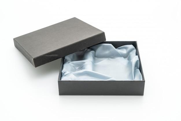 Caixa de presente preta
