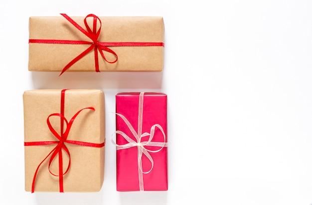 Caixas com presentes