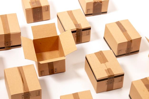 Caixas de papelão clássicas