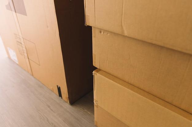 Caixas móveis